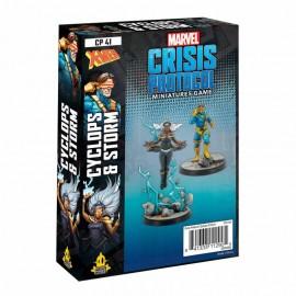 Storm and Cyclops: Marvel Crisis Protocol Line