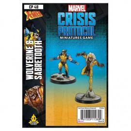 Wolverine and Sabretooth: Marvel Crisis Protocol Line