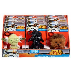 Star Wars - Mini Talking Plush - 10cm Assortment (12)