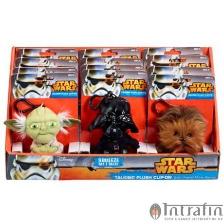 Star Wars - Mini Talking Plush - 10cm Assortment (12)