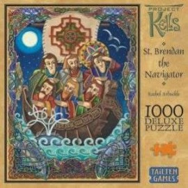 St. Brendan the Navigator 1000 pieces Deluxe Puzzle