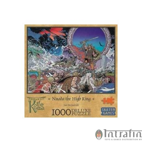 Nuada the High King 1000 Pieces Deluxe Puzzle