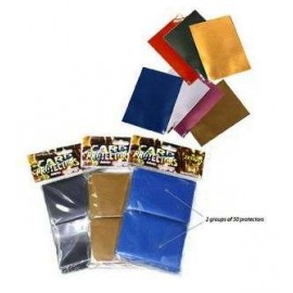 Card Sleeves Gold (100)