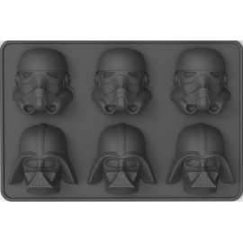 Star Wars - Ice Cube Tray - Stormtrooper & Darth Vader