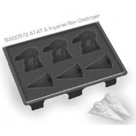 Star Wars - Ice Cube Tray - AT-AT & Destroyer
