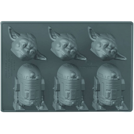 Star Wars - Ice Cube Tray - Yoda &R2-D2