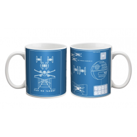 Star Wars - Mug - A New Hope Blueprint