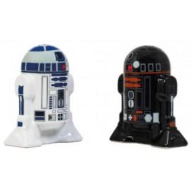 Star Wars - Ceramic Salt & Pepper Shaker - Droids