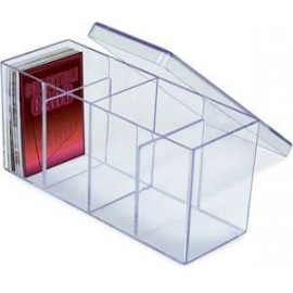 4-Compartment Box Clear