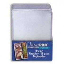 "Toploader 3""x4"" Regular ""Super Clear"" 25s"