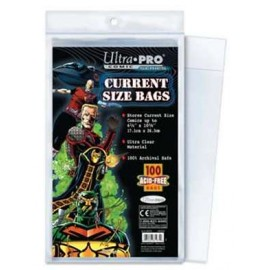 Comic Bags Current Size Resealable(100)