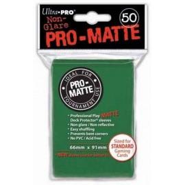 Pro Matte Standard Sleeves Green Display (12x50)
