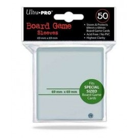 Board Game Sleeves 69x69mm (10x50)