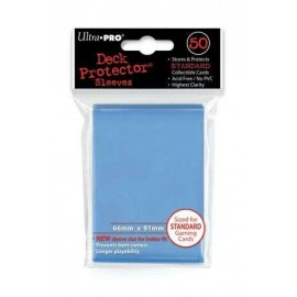 Standard Sleeves Light Blue Display (12x50)