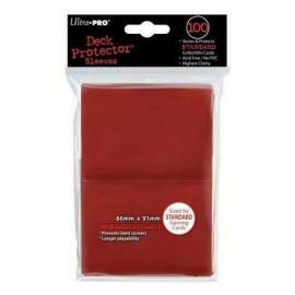 Standard Sleeves Red (100)