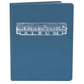 Collector 4-Pocket Portfolio Blue