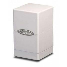 Satin Tower Deck Box White