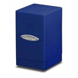 Satin Tower Deck Box Blue