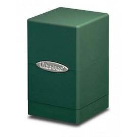 Satin Tower Deck Box Green