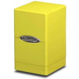 Satin Tower Deck Box Bright Yellow