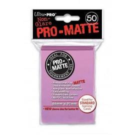 Pro Matte Standard Sleeves Pink Display (12x50)