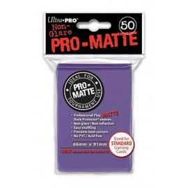Pro Matte Standard Sleeves Purple Display (12x50)