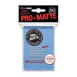 Pro Matte Standard Sleeves Light Blue Display (12x50)