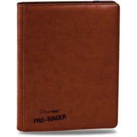 Pro Binder 9-Pocket Premium Brown