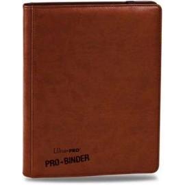 Pro Binder 9-Pocket Premium Brown
