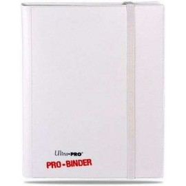 Pro Binder 9-Pocket White on White
