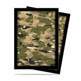 Camouflage Camo Standard Sleeves (50)
