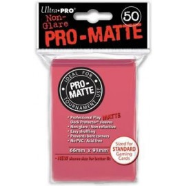 Pro Matte Standard Sleeves FuchsiaDisplay (12x50)