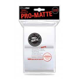 Pro Matte Standard Sleeves White 100ct