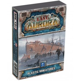 LAST AURORA PLASTIC MINIATURES- BOARD GAME