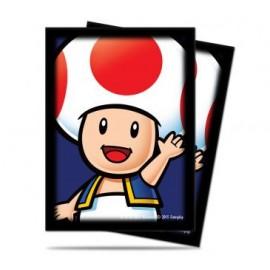 Super Mario Toad standard deckprotector sleeves 65ct