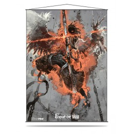 Force of Will Dark Arla Wall Scroll