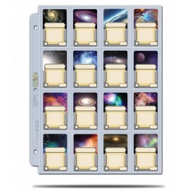 16-Pocket Pages Platinum with 41mmx63mm pocket (100)