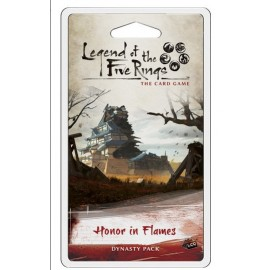Legend of the Five Rings LCG: Honor in Flames Dynasty Pack