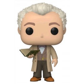 Television:1077 Good Omens -Aziraphale w/Book w/Chase