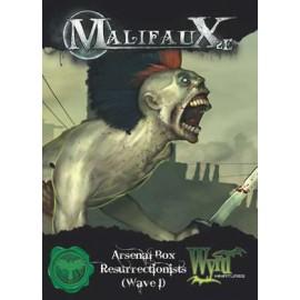 Malifaux 2nd Edition Arsenal Box 1Resurrectionists