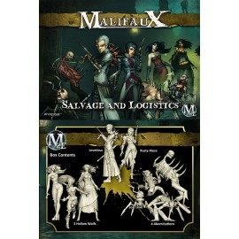 Malifaux 2nd Edition Leveticus crew (Salvage and Logistics)