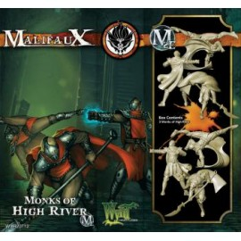 Malifaux 2nd Edition 3 Monk of High River (Shen Long)