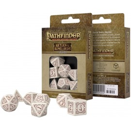 Pathfinder Return of the Runelords Dice Set (7)