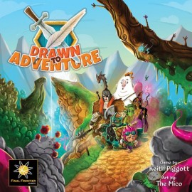 Drawn to Adventure Board game