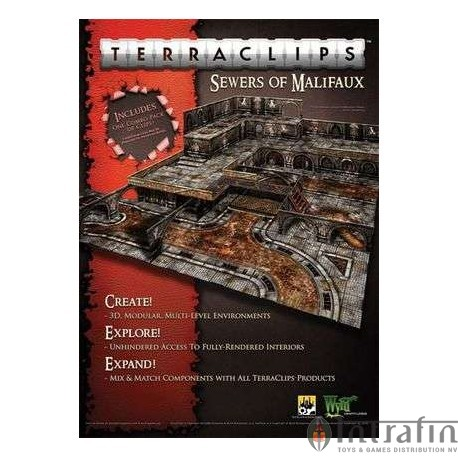 TerraClips 3D Sewers of Malifaux