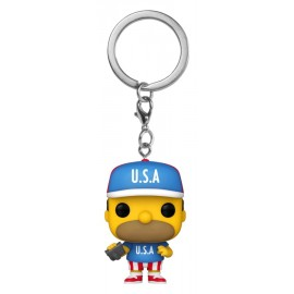 POP Keychains: Simpsons -USA Homer