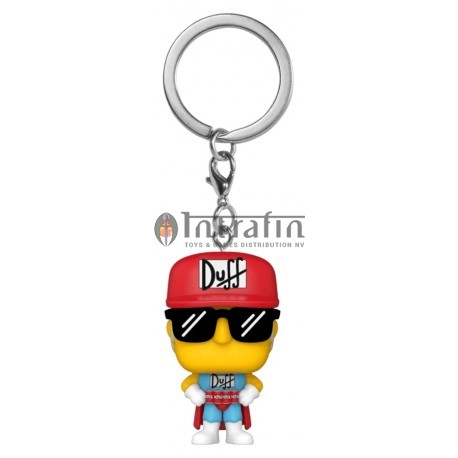 POP Keychains: Simpsons -Duffman