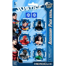 HC Justice League Trinity War Dice& Token Set