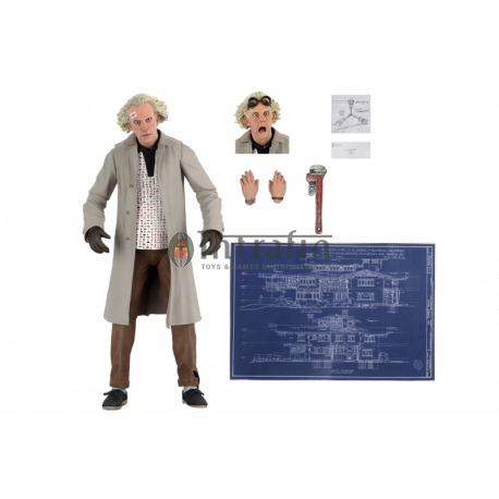"Back to the Future – 7"" Scale Action Figure – Ultimate Doc Brown"