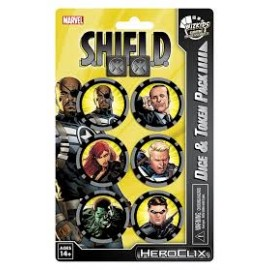 HC Nick Fury Agent of SHIELD Dice & Token Pack